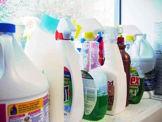 Alegerea produselor de curatenie